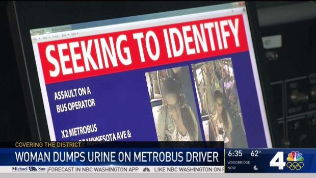 Metrobus drivers furious after urine attack