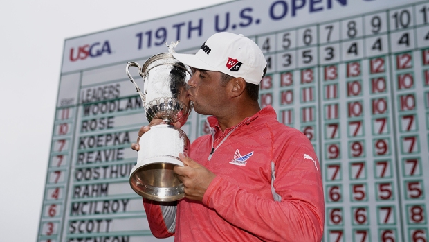 Top Sports Photos: Woodland Wins US Open