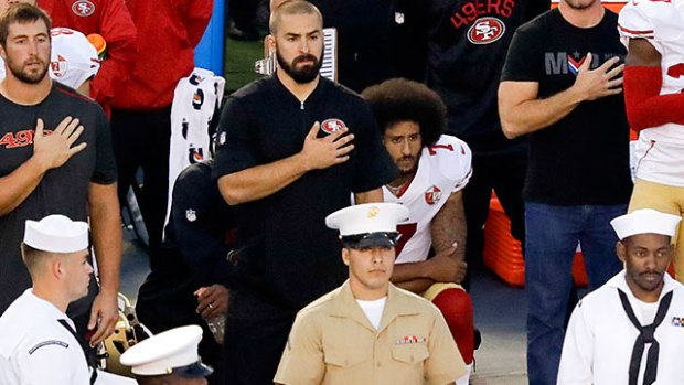 [NATL-BAY] Santa Clara Police Union Threatens Boycott of 49ers Games Over Kaepernick Protest
