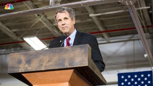 [NATL] Sen. Sherrod Brown Won't Run for President in 2020
