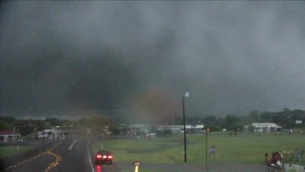 Canton Tornado on the Ground