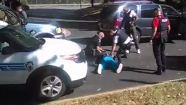 [NATL] Exclusive Video: Deadly Charlotte Police Shooting