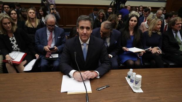 [NATL] Cohen: 'Everyone's Job at the Trump Organization Is to Protect Trump'