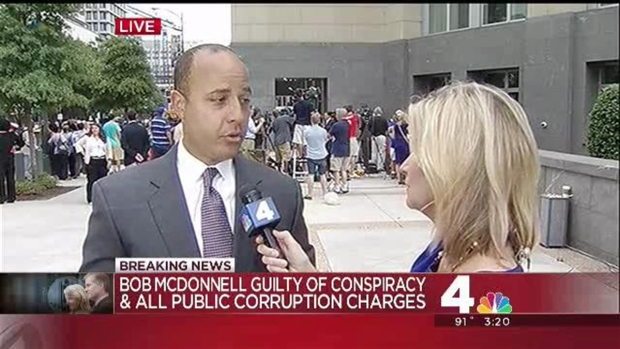 "McDonnells' Guilty Verdicts: ""Sobbing Began"""