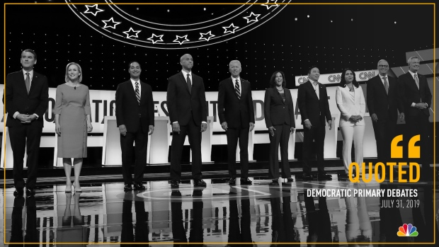 [NATL] 2nd Democratic Primary Debate in Quotes: Night 2