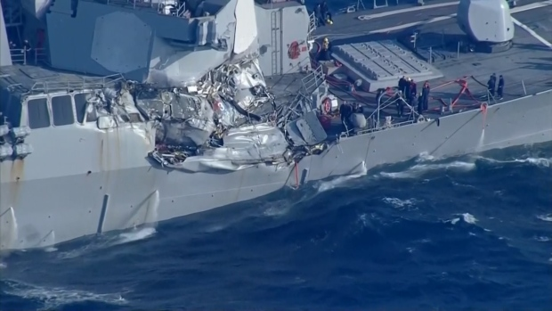 Navy to replace commander of 7th Fleet after latest collision