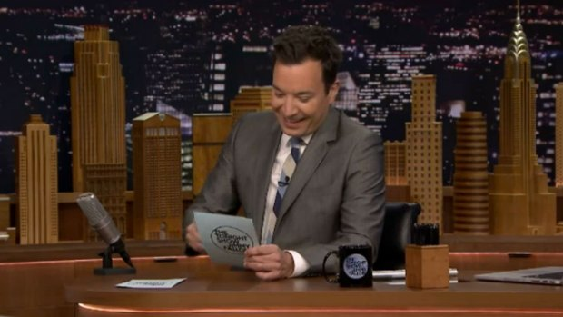 [NATL] 'Tonight Show': Hashtag About Wedding Fails
