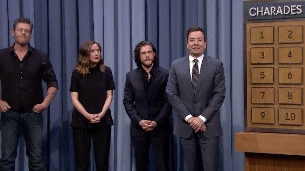 [NATL] 'Tonight Show' Charades With Blake Shelton