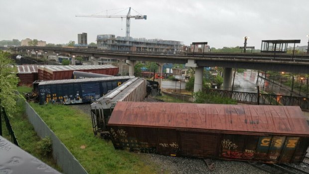 [DC] CSX Train Derailment Causes Lingering Problems in DC Area