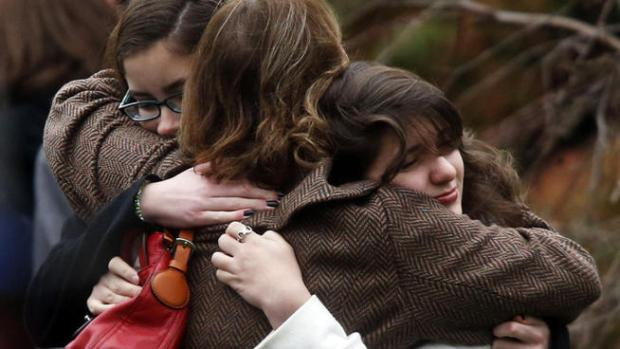 [BAY] Grieving Newtown Holds Two Funerals