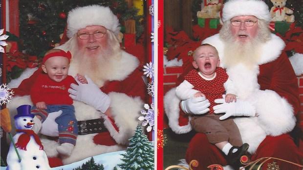 Santa Fail: Photos of Awkward Encounters With St. Nick