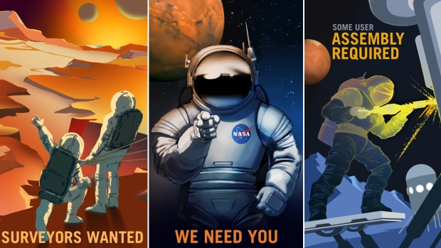 [NATL-LA] Mars Explorers Wanted: NASA Shares Recruitment Posters