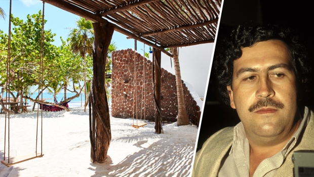Pablo Escobar's Reputed Beachfront Hideout in Tulum is Open to Public