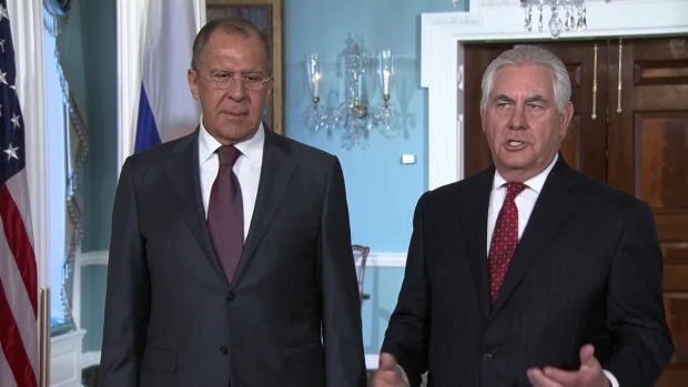 Russia's Lavrov Makes Sarcastic Joke About Comey