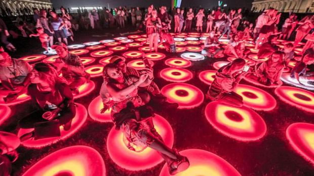 PHOTOS: Light City's Jaw-Dropping Displays in Baltimore