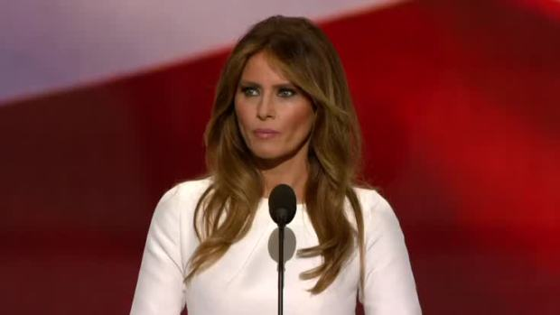 Melania Trump Speaks at RNC 2016