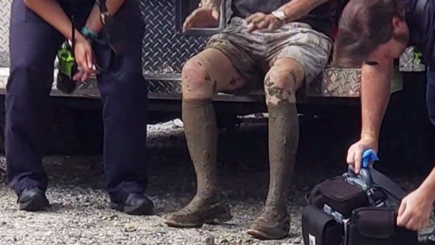 [DC] Dogs Bark Down Help for 87-Year-Old Man Stuck in the Mud