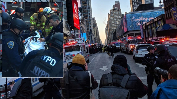 Rush-Hour Explosion Near Major NYC Transit Hub
