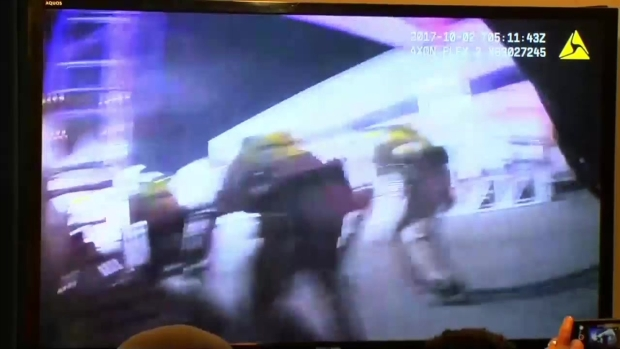 [NATL-NY] Body Camera Footage Shows Las Vegas Police Response