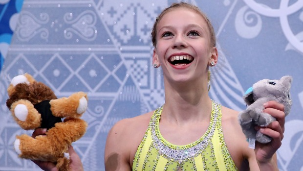 Sochi 2014 Figure Skating Photos: The Kiss-and-Cry Zone