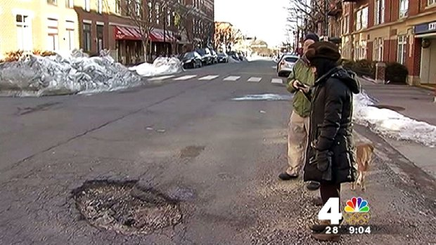 [DC] Pothole Problem Growing in D.C. Metro Area
