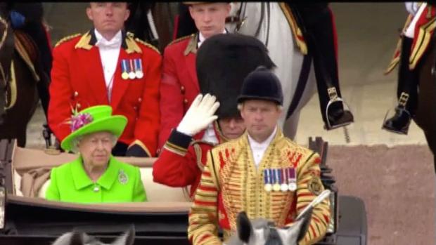 [NATL] Britain Celebrates Queen Elizabeth's 90th Birthday