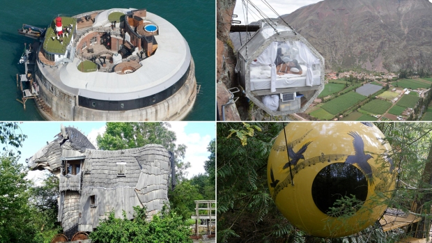 [NATL] 10 of the World's Quirkiest, Weirdest, Most Out-There Hotels