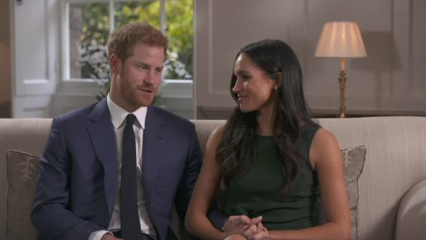 Prince Harry and Meghan Markle Talk Proposal Moment
