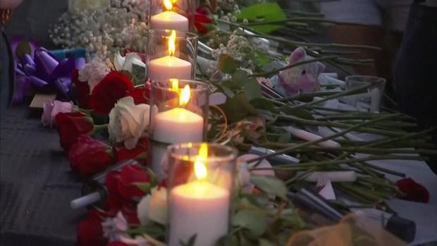 [DFW] Hundreds Attend Vigil for Santa Fe Shooting Victims