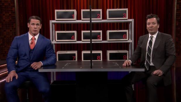 [NATL] 'Tonight': Jimmy and John Cena Play 'Box of Lies'
