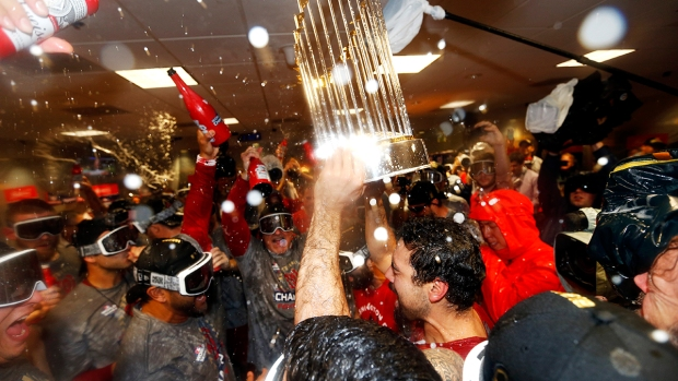 Photos: Nats Celebrate World Series Win