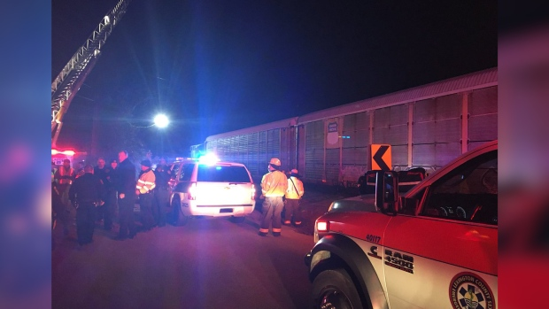 Miami-Bound Amtrak Train From NY Collides With Freight Train