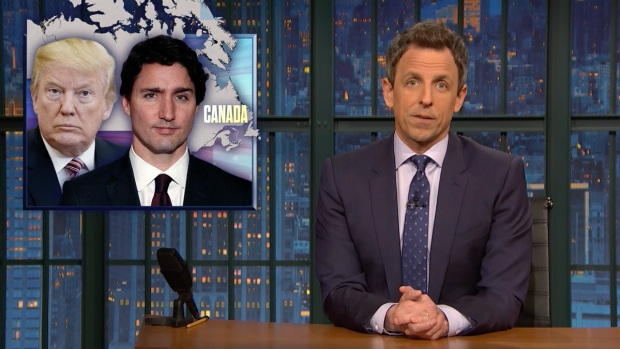 [NATL] 'Late Night': A Closer Look at Trump's Lies to Trudeau
