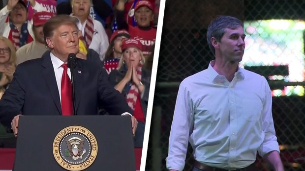 [NATL-DFW] In El Paso, Trump and O'Rourke go Head-to-Head Over Wall