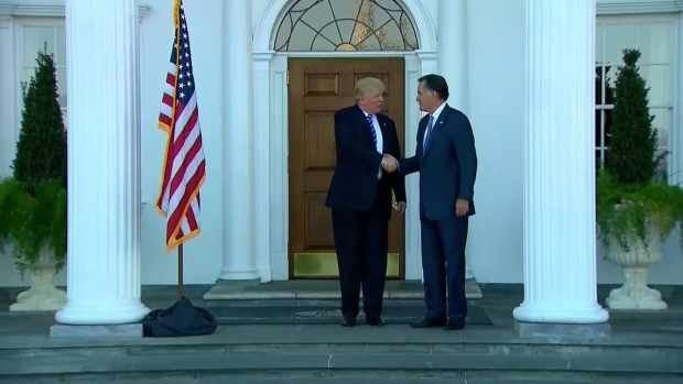 [NATL] Trump Takes Meetings at His New Jersey Golf Club