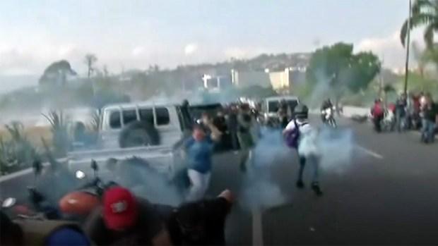 [NATL] Venezuela's Opposition Attempts Uprising in Caracas Streets