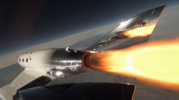 [NATL BAY] Virgin Galactic Says Tourism Rocket Ship Climbed to the Edge