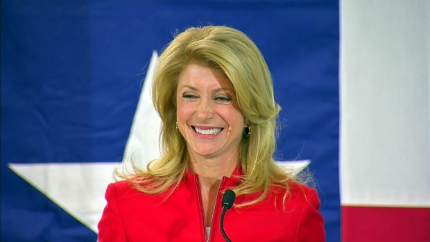 [DFW] Wendy Davis Accepts Nomination for Governor