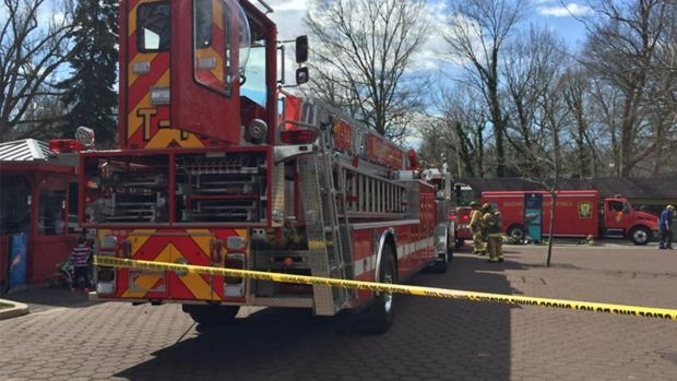 Chemical Explosion at National Zoo