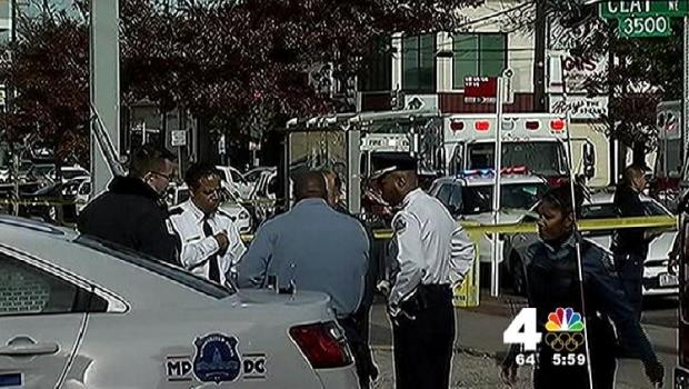 [DC] Four Shot Outside Northeast D.C. Store in Daylight