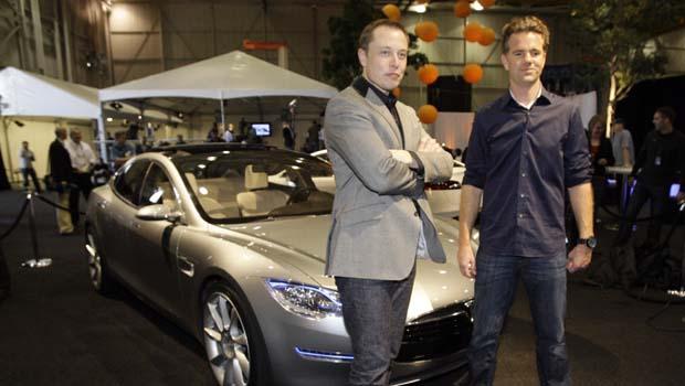 Tesla Roadster Unveiled