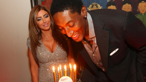 Scottie Pippen's Surprise Birthday Bash