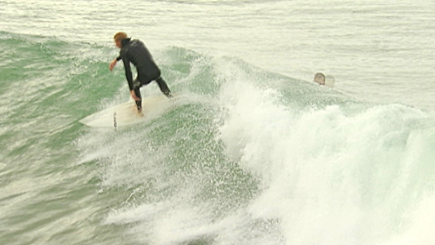 Surfing the Big Swell