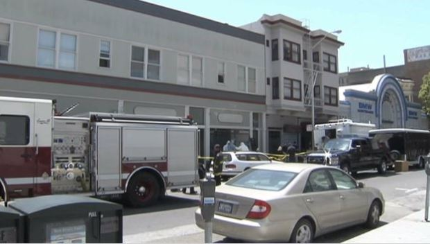 [BAY] FBI, Hazmat Crews Outside Russian Hill Apt. Building