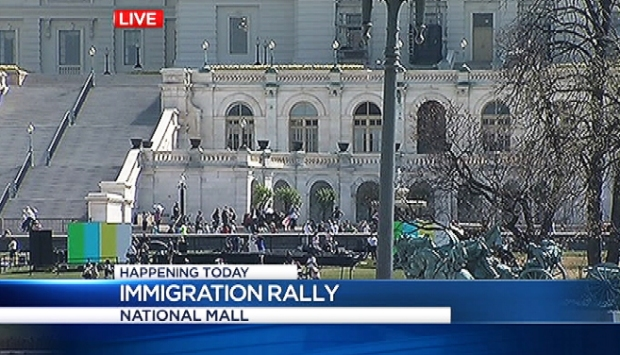 [DC] 30,000 Expected at Immigration Rally