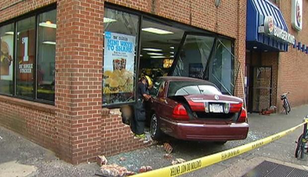 PHOTOS: Burger King Crash Aftermath
