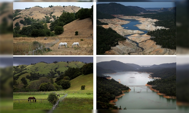 [NATL-LA-GALLERY UPDATED 11/28] Then and Now: Dramatic Photos of California's Drought and Recovery