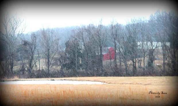 Snow Flurries Across Region