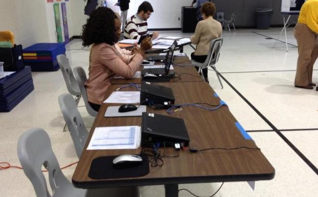 [DC] Computer Glitches, Low Turnout Affect Va. Elections