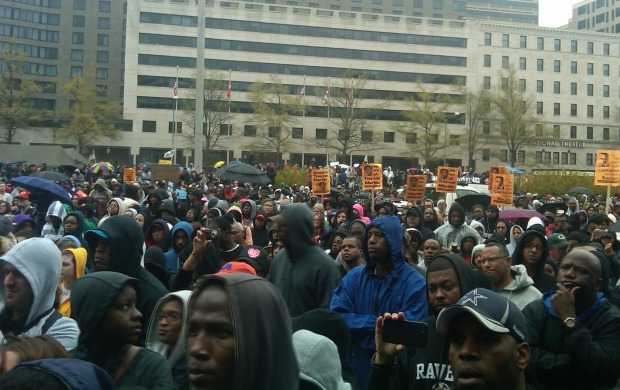 [DC] Hundreds Rally for Trayvon Martin